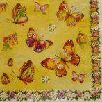 Pillangós szalvéta