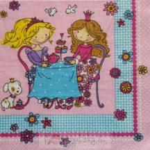 Sütiző hercegnők szalvéta
