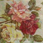 Rózsás szalvéta