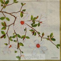 Virágzó fás szalvéta