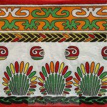 Indián motívumos szalvéta