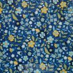 Virágos kék szalvéta