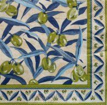 Olivás szalvéta