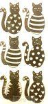 Macskás zsebkendő