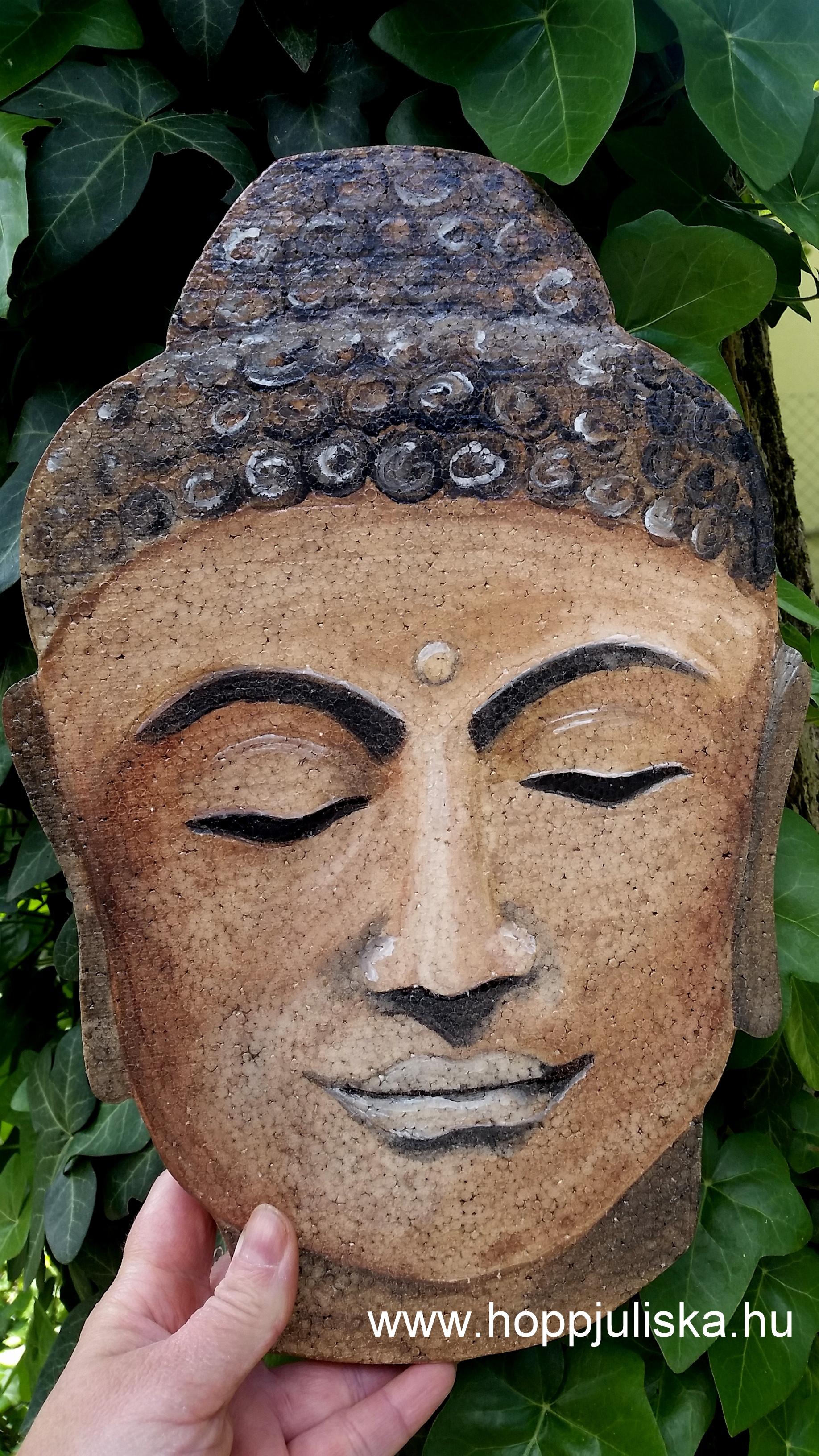 Buddha fej